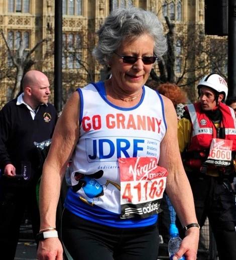 68 and I've run the London marathon