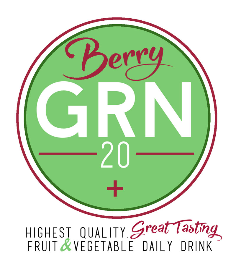 GRN20+ SuperGreens Formula // Berry Flavoured