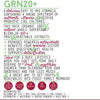 GRN20+ SuperGreens Formula // Berry Flavoured