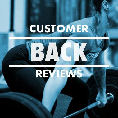 Customer Back Reviews