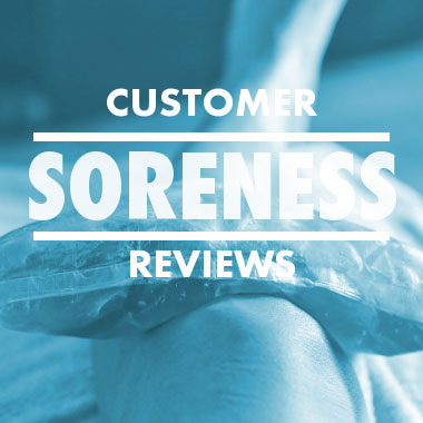 Customer soreness reviews
