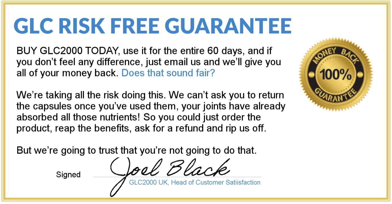 GLC2000 risk free certificate